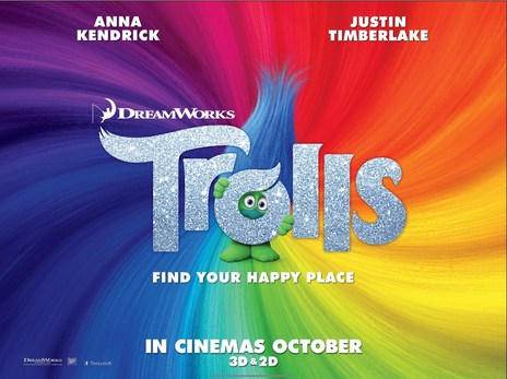 Film picture: 2D Trolls