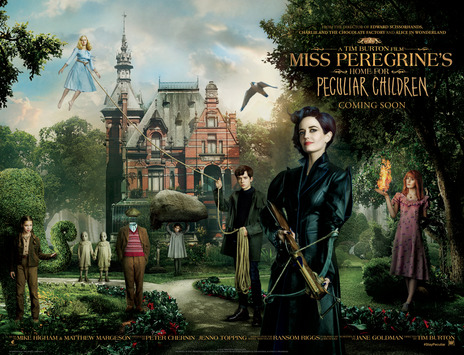 Film picture: 3D Miss Peregrine's Home For Peculiar Children