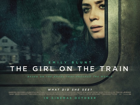 movie poster of The Girl on the Train