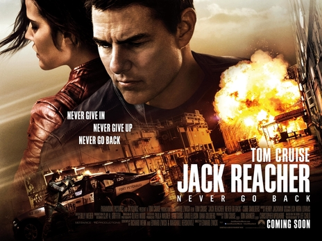 Film picture: Jack Reacher: Never Go Back
