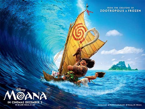 Film picture: 2D Moana