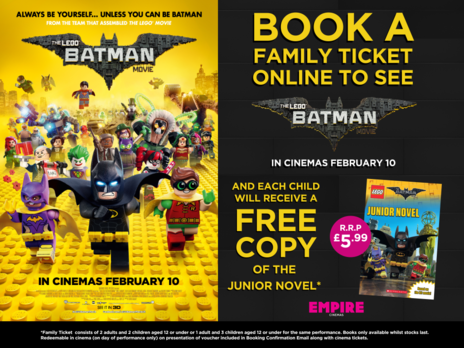 Film picture: The Lego Batman Movie