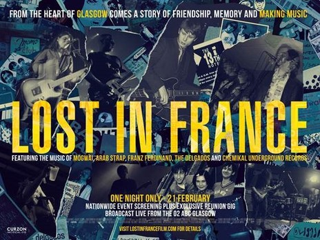 Film picture: Lost In France - Live From Glasgow Film Festival
