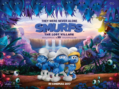 Film picture: 2D Smurfs: The Lost Village