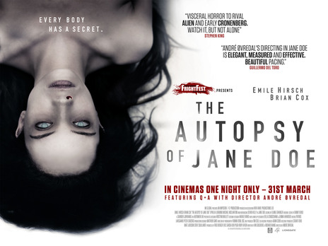 Film picture: The Autopsy Of Jane Doe