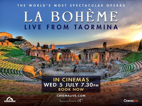 Film picture: La Boheme: Live From Taormina