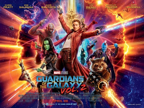 Film picture: 3D Guardians Of The Galaxy Vol. 2