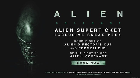 Film picture: Alien SuperTicket