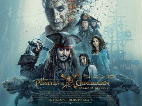 Film picture: 2D Pirates of the Caribbean: Salazar's Revenge