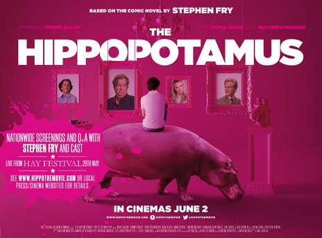 Film picture: The Hippopotamus + Q&A with Stephen Fry