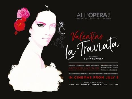 Film picture: Sofia Coppola�s La Traviata - Teatro Dell' Opera 2017