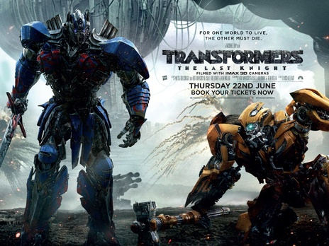Film picture: (IMAX) 3D Transformers: The Last Knight