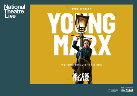 Film picture: NT Live - Young Marx (Encore)