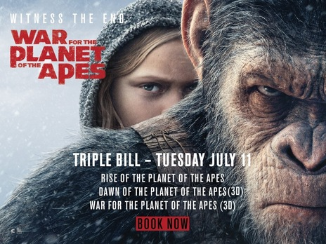 Film picture: Planet Of The Apes - Triple Bill
