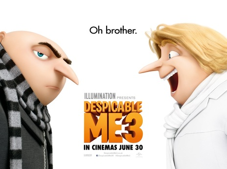 Film picture: 2D Despicable Me 3