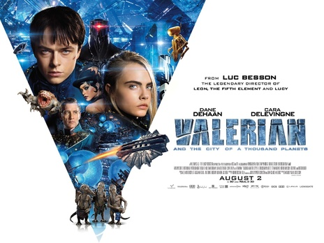 Film picture: 2D Valerian And The City Of A Thousand Planets