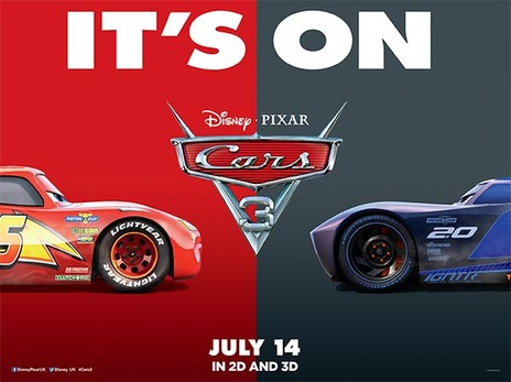 Film picture: 2D Cars 3 [Includes short film LOU]