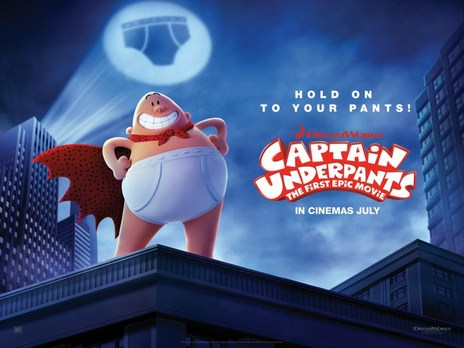 Film picture: Captain Underpants