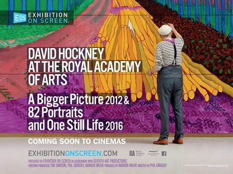 Film picture: Exhibition On Screen: Hockney 2017