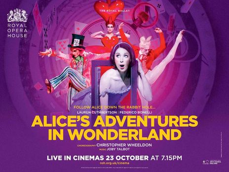 Film picture: ROH - Alice's Adventures in Wonderland (Live)
