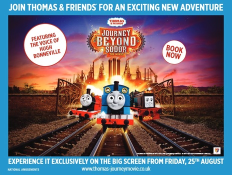 Film picture: Thomas & Friends: Journey Beyond Sodor