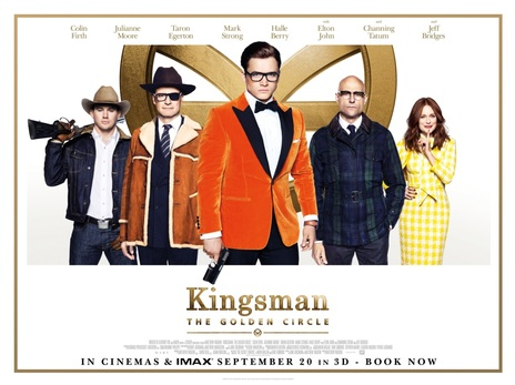 Film picture: 3D Kingsman: The Golden Circle