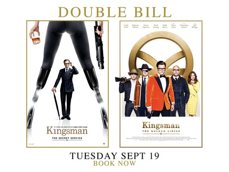 Film picture: Kingsman: The Secret Service / Kingsman: The Golden Circle Double Bill
