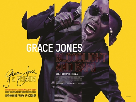 Film picture: Grace Jones & Friends Live.