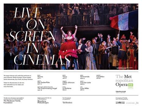 Film picture: Met Opera 2018 - Tosca