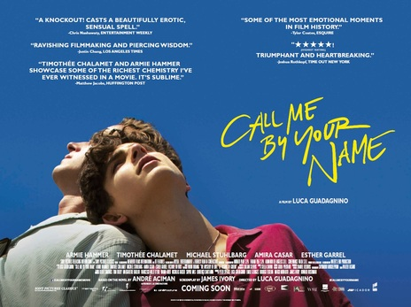 Film picture: Call Me By Your Name