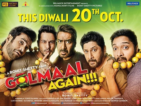 Film picture: Golmaal Again!!!