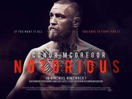 Film picture: Conor McGregor: Notorious. Incl. LIVE Satellite Intro With Conor McGregor