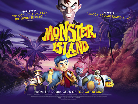Film picture: Monster Island