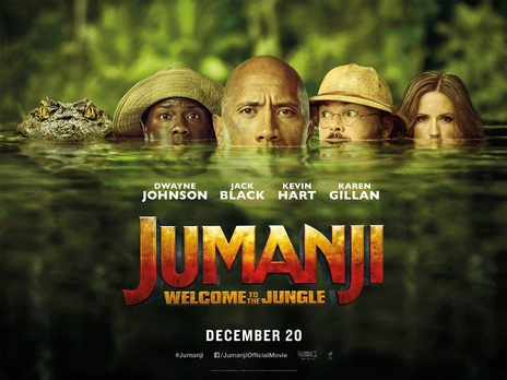 Film picture: 3D Jumanji: Welcome To The Jungle