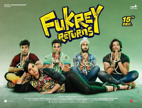 Film picture: Fukrey Returns