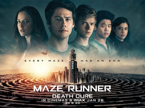 Film picture: 3D Maze Runner: The Death Cure