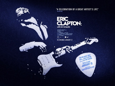 Film picture: Eric Clapton: A Life In 12 Bars - One Night Special With Satellite Broadcast Q&A.