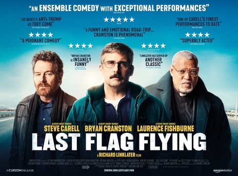 Film picture: Last Flag Flying - One Night Special with Brian Cranston Satellite Broadcast Q&A.