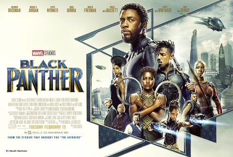 Film picture: (IMAX) 3D Black Panther