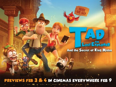Film picture: 2D Tad The Lost Explorer And The Secret Of King Midas
