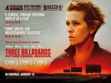 Film picture: Three Billboards Outside Ebbing, Missouri
