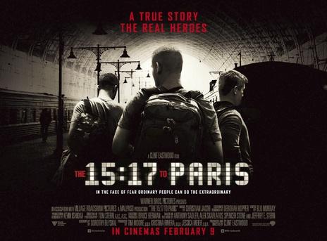 Film picture: The 15:17 To Paris