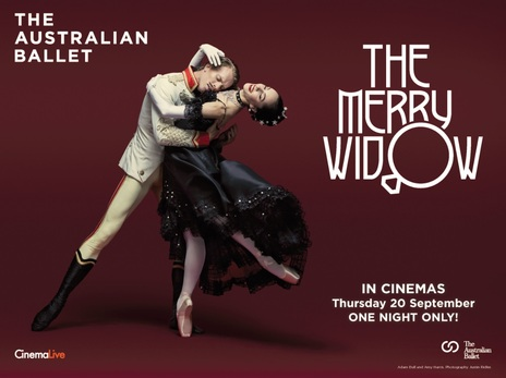 Film picture: The Merry Widow - Australian Ballet (2018)