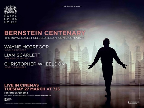 Film picture: ROH - Bernstein Centenary: Wayne McGregor/ Age of Anxiety/ Chris Wheeldon (Live)