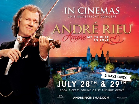 Film picture: Andre Rieu's 2018 Maastricht Concert