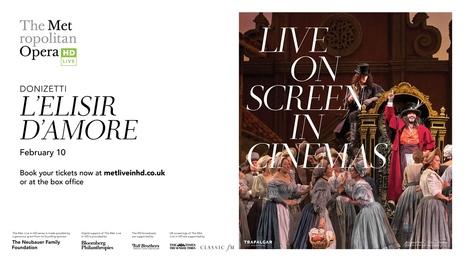 Film picture: Met Opera 2018 - L'Elisir D'Amore