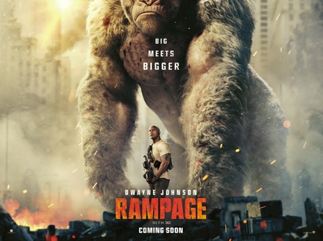 Film picture: (IMAX) 3D Rampage