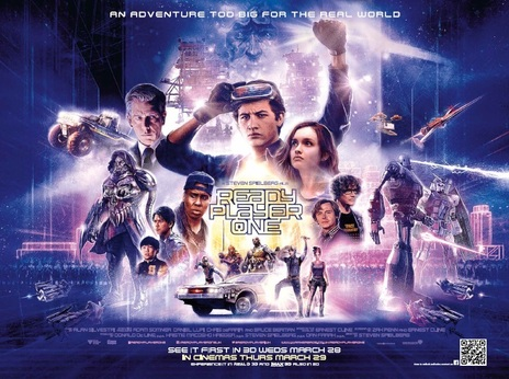 Film picture: 3D Ready Player One