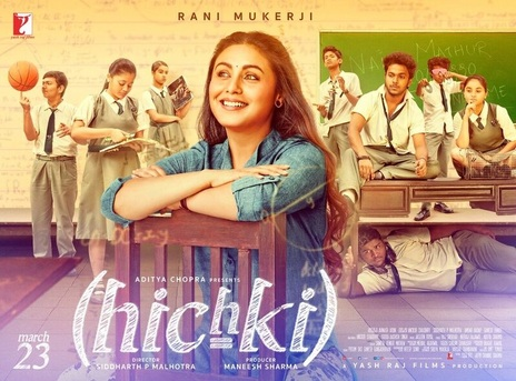 Film picture: Hichki (Hindi with English subtitles)