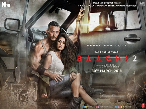 Film picture: Baaghi 2
